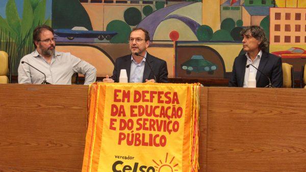 Vereador lança Programa Educação em Primeiro Lugar