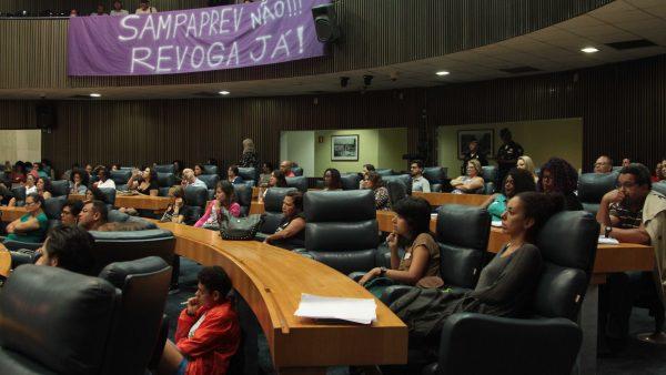 SampaPrev – Revoga Já: Resistência e o direito à Greve