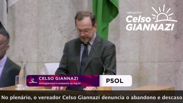 Giannazi denuncia falta de infraestrutura na Chácara S. Amaro