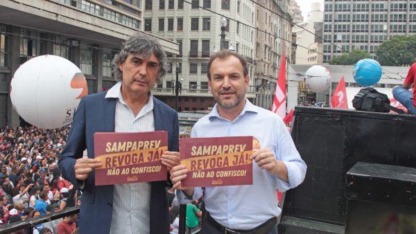 Giannazi sai em defesa dos servidores públicos contra o SampaPrev