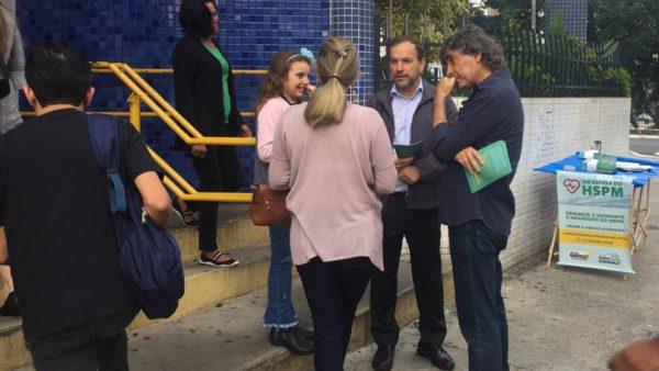 Giannazi inicia campanha para salvar Hospital do Servidor