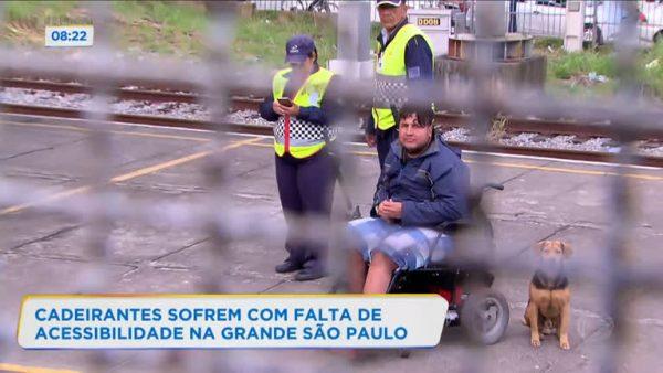Paulistanos reprovam falta de acessibilidade em São Paulo