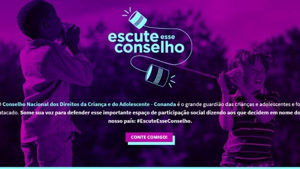 Governo Bolsonaro quer destruir o Conanda