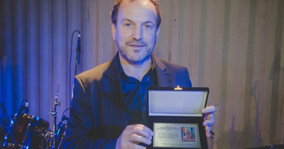 Giannazi foi premiado em virtude de sua proposta de criação da Frente Parlamentar de Controle das IST/HIV/AIDS e Tuberculose.