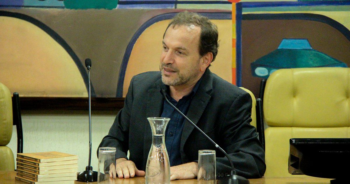 Celso Giannazi na primeira reunião do Conselho do EJA.