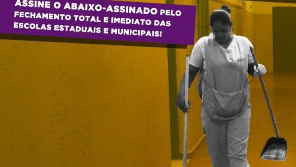 Denúncia ao GEDUC-MP pelo fechamento total das Unidades Escolares