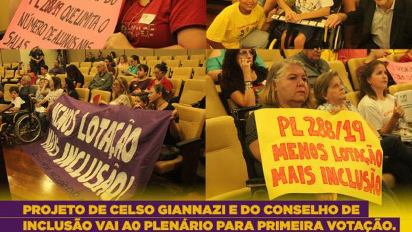 Menos lotação, Mais inclusão! Pressione os(as) vereadores(as) e nos ajude a aprovar o PL 288/2019 !!!