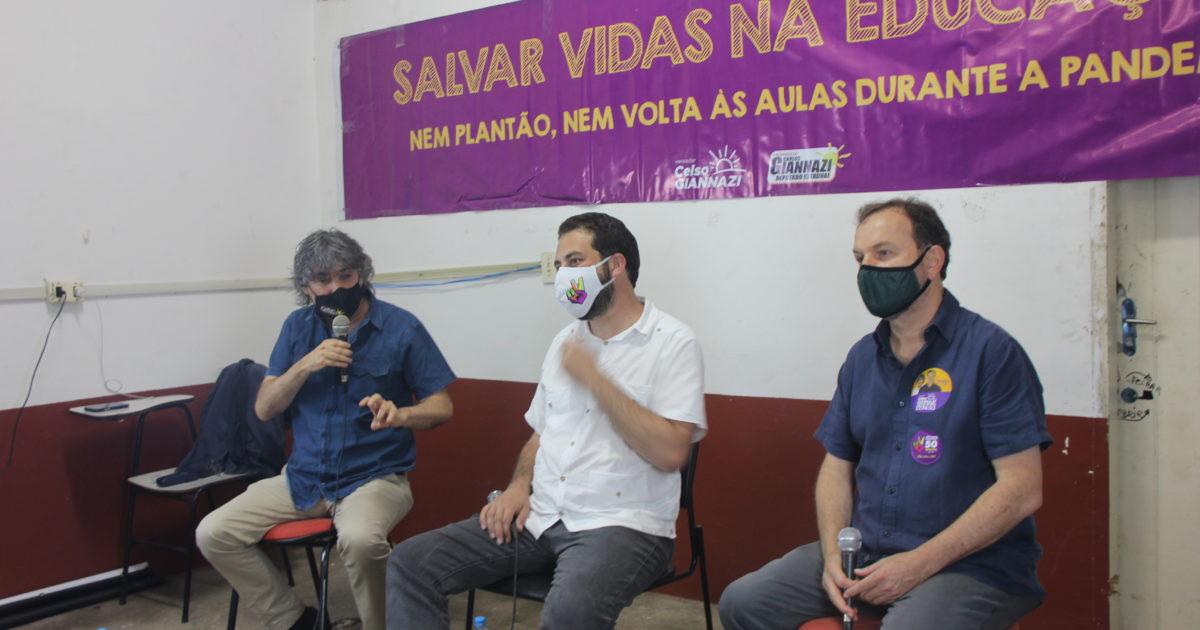 A Plenária da Educação aconteceu na noite de terça-feira, 13, na zona sul de São Paulo