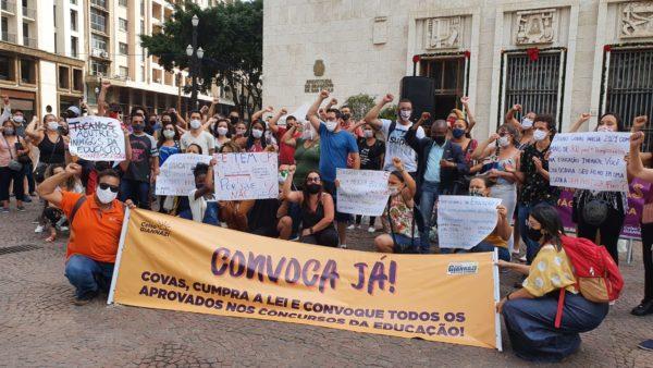 #ConvocaJá: Giannazi promove ato na Prefeitura e anuncia reunião com o Ministério Público