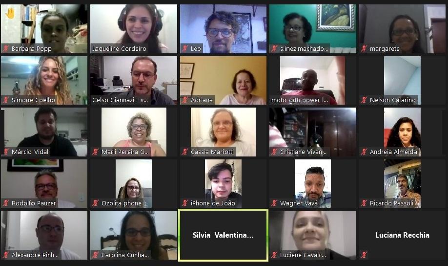 A primeira reunião (virtual) do Conselho foi na noite de quinta-feira, 18