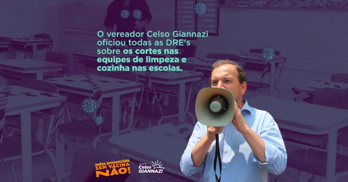 Cortes de contrato como esse não são novidade na Gestão Covas e são mais um sintoma do sucateamento histórico das escolas públicas.