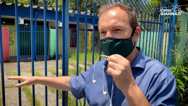 Após denúncia de Giannazi, Defesa Civil solicita que SME faça reformas emergenciais na EMEI Juca Rocha