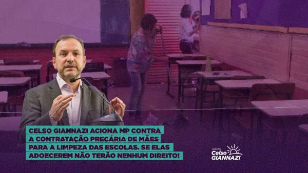 Giannazi aciona o Ministério Público contra a precariedade do POT