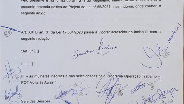 Emenda do vereador Celso Giannazi inclui na Renda Básica mães que não foram contratadas para a limpeza das escolas