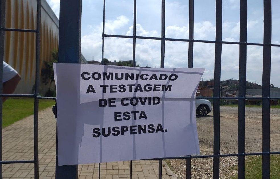 Falta de testes fez com que o processo no CEU Feitiço da Vila fosse suspenso. (Foto: Arquivo Pessoal)