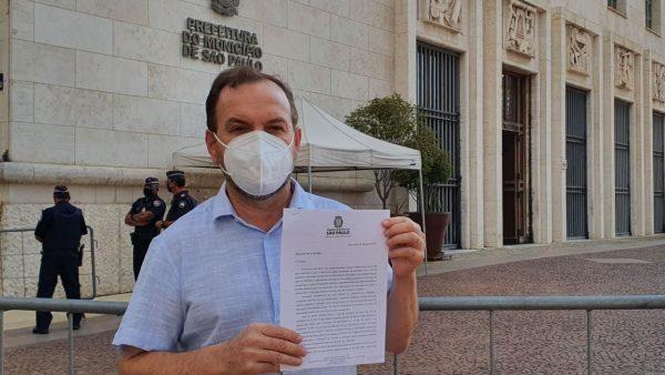 Celso Giannazi envia ofício ao prefeito Bruno Covas para impedir o retorno às aulas presenciais