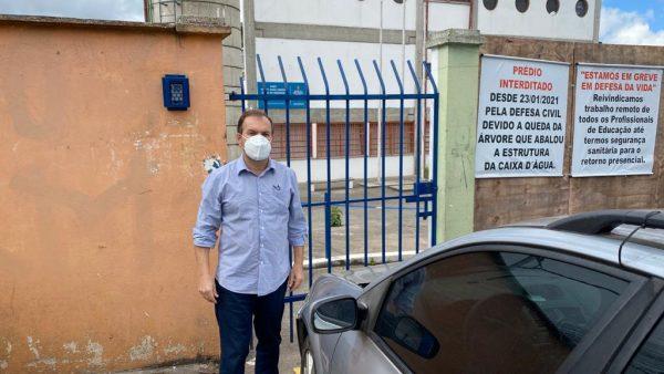 Celso Giannazi pede esclarecimentos para o Secretário de Educação sobre a interdição da EMEI Professora Rosa Maria Dôgo de Resende