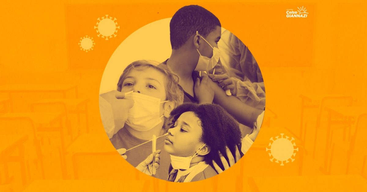 O PL 394/2021 também autoriza a Prefeitura a apoiar estudos para avaliar a possibilidade de imunização de crianças abaixo de 11 anos