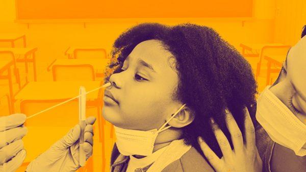 Segurança sanitária nas escolas só é possível com testagem em massa; entenda