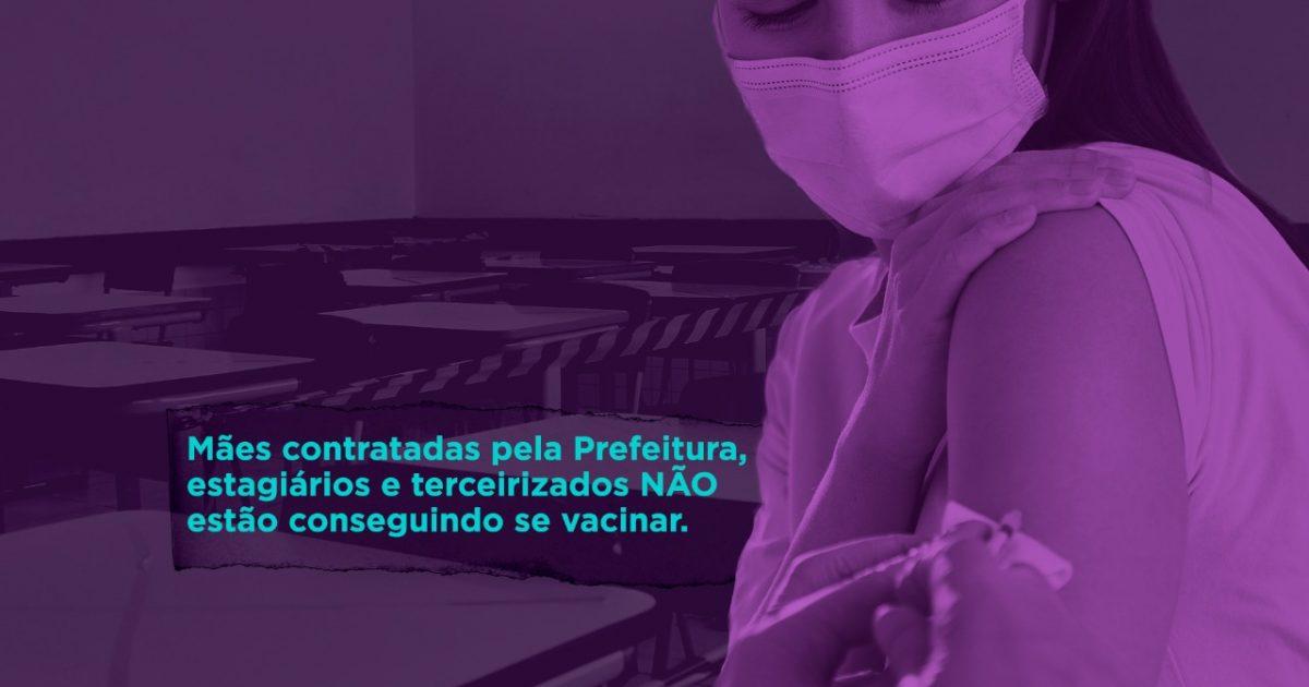 A vacinação de todos é essencial para garantir a segurança de toda a comunidade escolar.