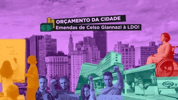 Emendas de Celso Giannazi à LDO focam em Educação, Saúde, servidores públicos e inclusão social; veja todas