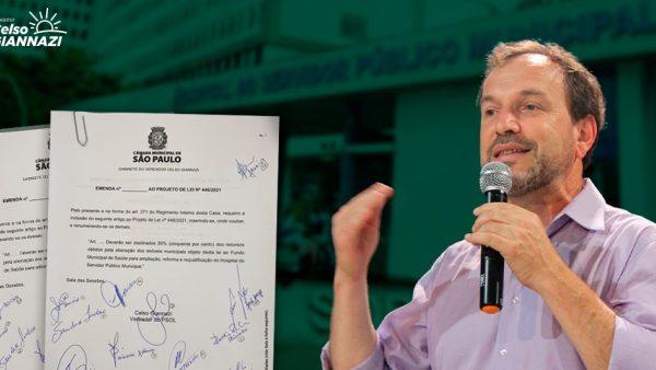 Emendas do vereador Celso Giannazi destinam R$35 milhões em recursos para o Hospital Sorocabana e HSPM