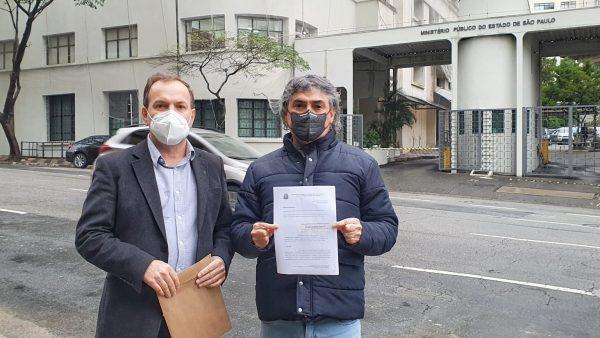 Celso e Carlos Giannazi acionam o Ministério Público contra o retorno das aulas presenciais em 2 de agosto