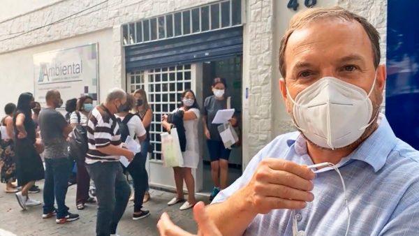 Celso Giannazi aciona o MP, o TCM e a CGM contra o tratamento desumano nas perícias e exames admissionais que foram terceirizados pela Prefeitura.